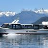 Navegación costera en el Lago Puelo